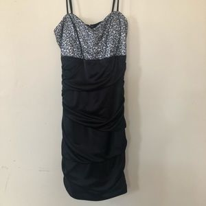 Black Formal Spaghetti strap dress